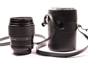 CIMKO-COMPACT-MC-Lens-1-2-8-f-135-mm-55-mm-filtre-uv-made-in-Japan