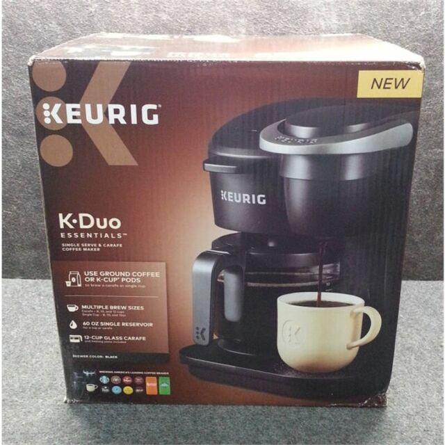 Keurig K-Duo Essentials 12 Cup Coffee Maker - Black for ...