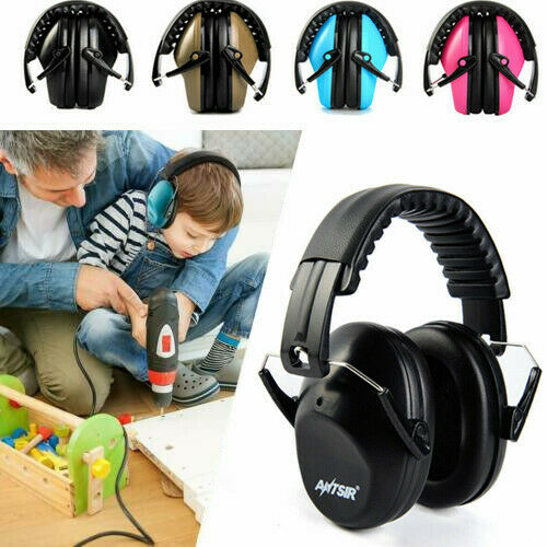 26dB Ear Muffs Hearing Foldable Noise Reduction Protection Shooting Range