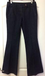 INC-International-Concepts-Wide-Leg-Dark-Denim-Trouser-Jeans-Size-4-NWOT