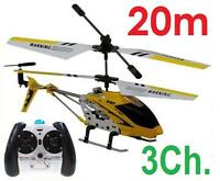 Helicoptere Radiocommande Rc Tres Maniable En Metal 3.5ch S107g Idee Cadeau