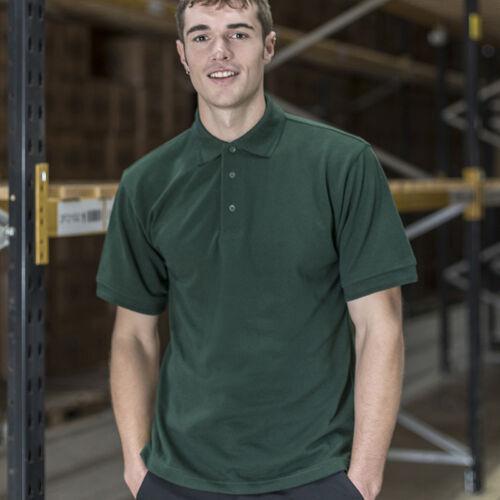 Polycotton Short Sleeves Comfort T-shirt RTXtra Men/'s Premium Polo Tee RX150