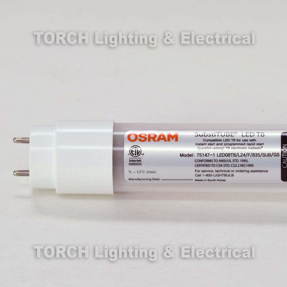 2er Pack Osram Substitube LED Starter T8