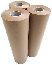 3 Stück Malerabdeckpapier 225mmx50m ca. 40g/m² braun Papierrollen Abdeckpapier