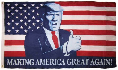 American Flag 3/'x5/' Grommets 3x5 MWS U.S.A Trump Making America Great Again