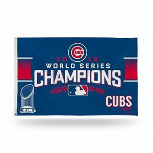 CHICAGO-CUBS-WORLD-SERIES-CHAMPIONS-2016-MLB-3x5ft-Banner-Flag-US-shipper