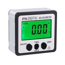 490 Digital Protractor Level Angle Gauge Inclinometer Magnet Base Waterproof