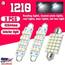 3x 1210 Led Interior Map Dome Lights Bulbs For 88 98 Chevy Silverado Gmc Sierra