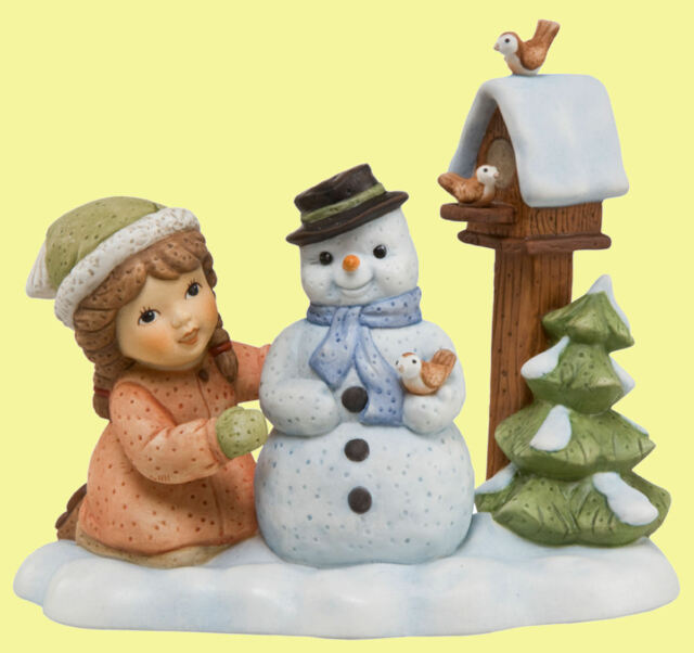 Goebel NM Nina & Marco Porzellanfigur Winter - Mein niedlicher Freund - 11746195