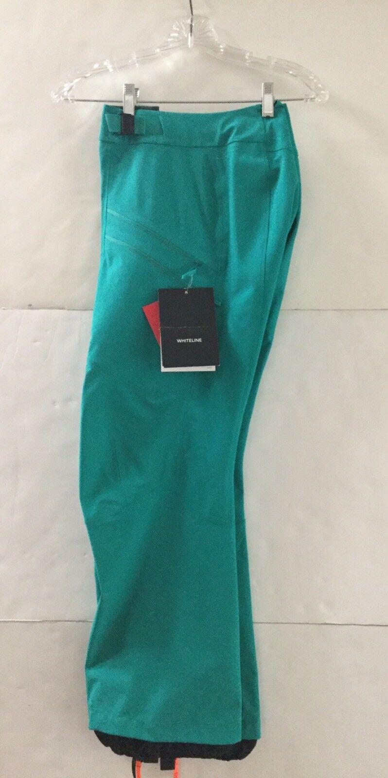 Arc'teryx Women's Softshell Nevus Ski Pants size  10 Patina Teal Model  in stadium promotions