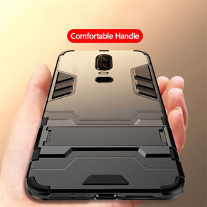 For-OnePlus-6T-6-5-5T-Kickstand-Shockproof-Protective-Armor-Thin-Hard-Case-Cover