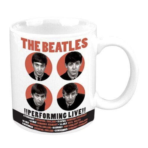 Official The Beatles Mug Yellow Submarine Abbey Road band logo Sgt Pepper Apple