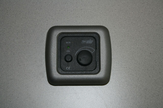 CBE, Campervan, Caravan, Motorhome Dimmer Switch, 12v Dimmer Switch - Graphite