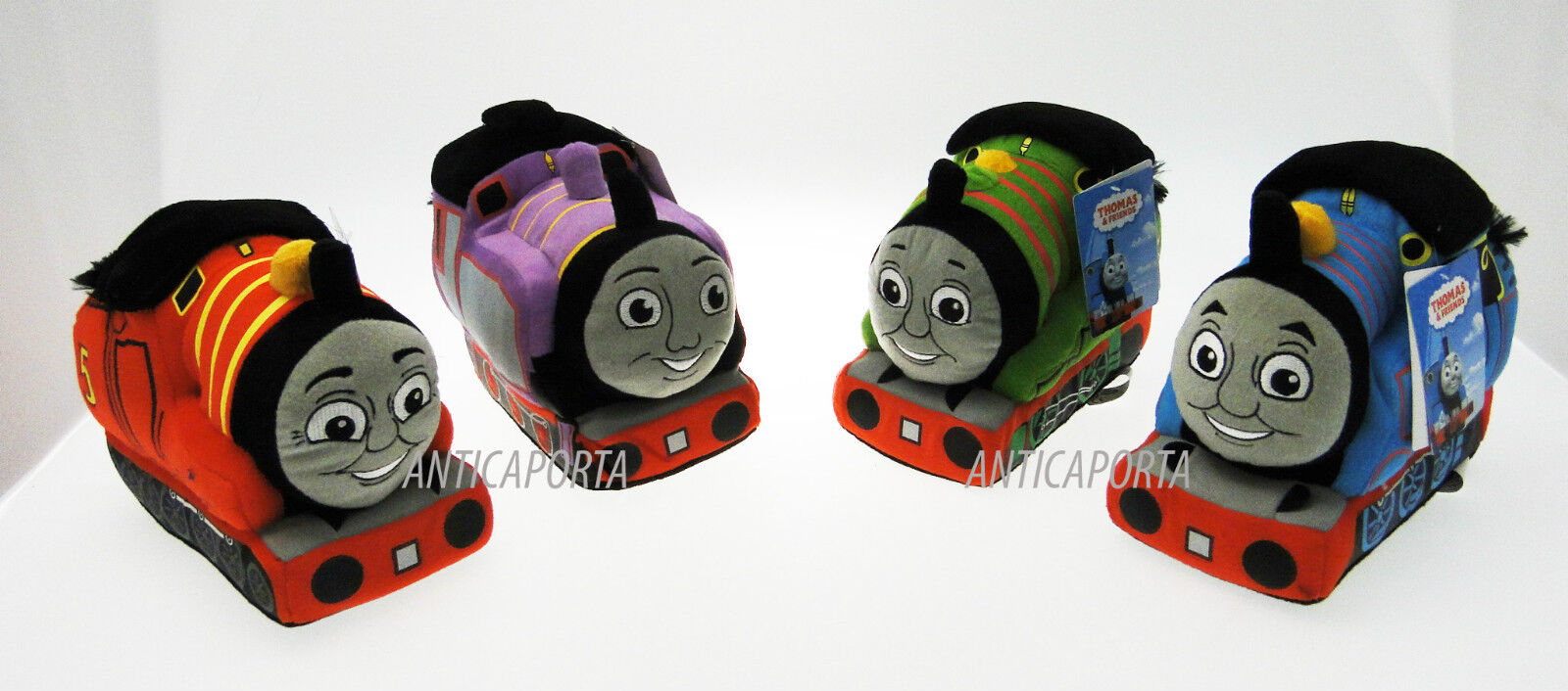 Soft toy the Little train Thomas gli friends unavailable James Percy and Ryan