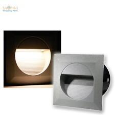 3 x LED Wandeinbauleuchten Wandeinbaustrahler Treppenleuchten Außen & Innen IP65