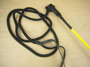 Sonderposten Trainings Pole Hundetraining Peitsche 125 cm gelb No. 1144