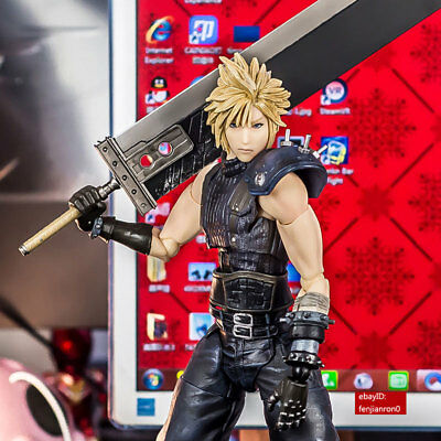 Play Arts Kai Final Fantasy VII 7 Remake Cloud Strife Action Figure