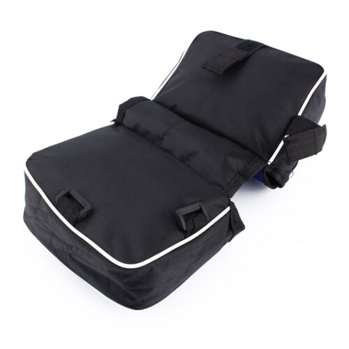 Bicycle Cycling Frame Saddle Front Tube Bag Double Side Pouch Black