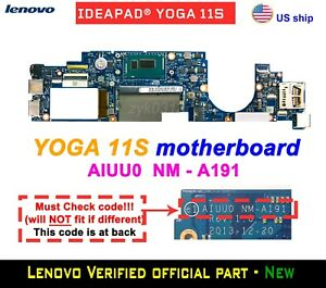 Lenovo-Yoga-11S-20246-Laptop-i3-4020Y-CPU-AIUU0-NM-A191-Motherboard
