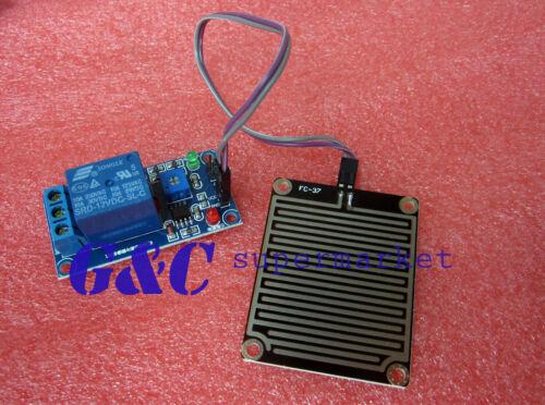 1pcs 12v Raindrops Controller Module Rain sensor module Foliar moisture M35