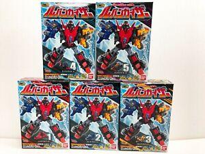 DHL-First-Ship-Power-Rangers-Lupinranger-Mini-Pla-01-LUPIN-KAISER-Set-of-5-NEW