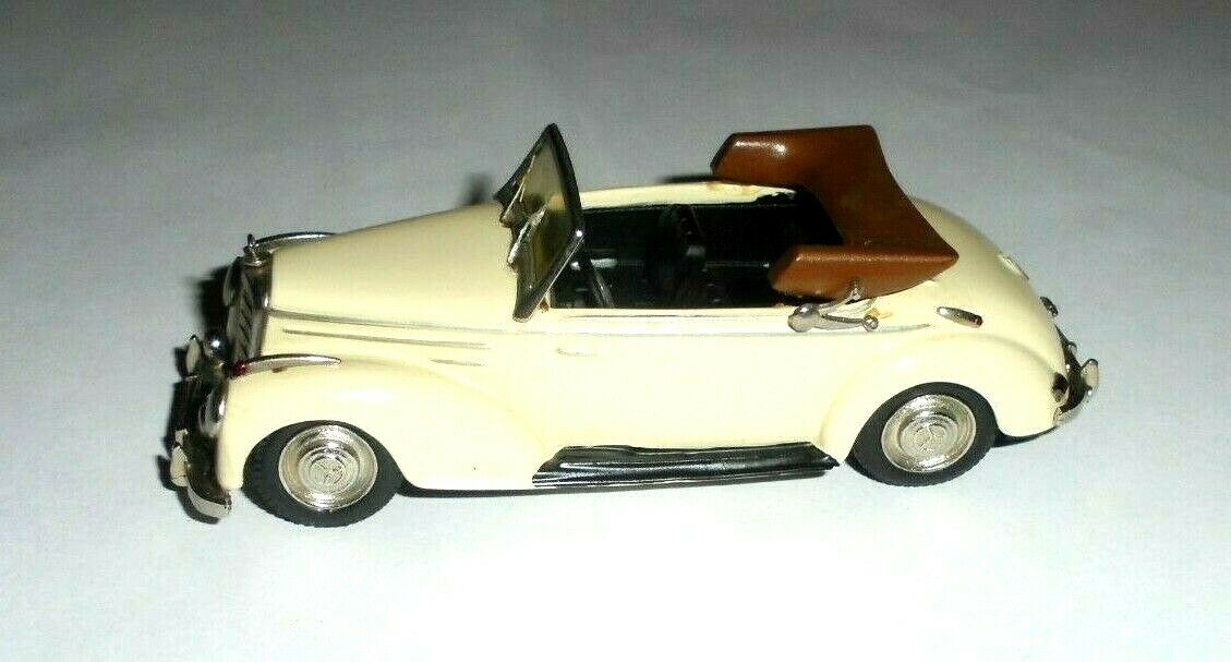 auto 1 43 TIN WIZARD M43073-6 MERCEDES (W187) 220 Cab A OPEN TOP  IVORY ver-see