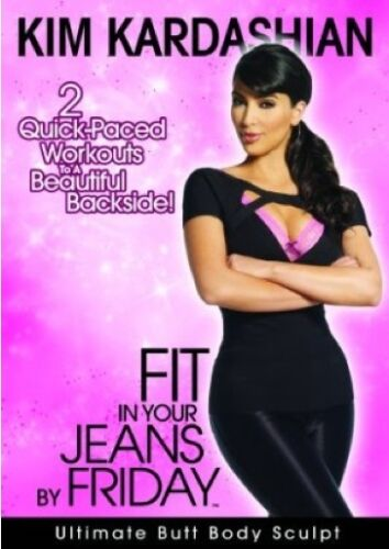 1 of 1 - KIM KARDASHIAN - FIT IN YOUR JEANS BY FRIDAY - VOLUME 1 (DVD) NEW!!! SEALED!!!