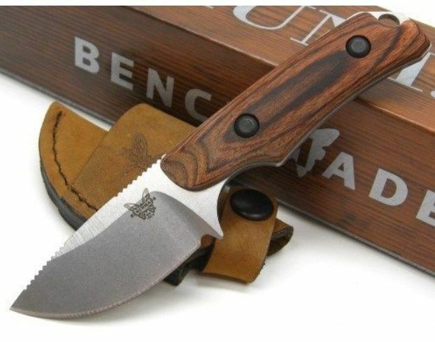 * Benchmade HUNT Hidden Canyon Hunter 15016-2 Dymondwood Handle Small Skinner