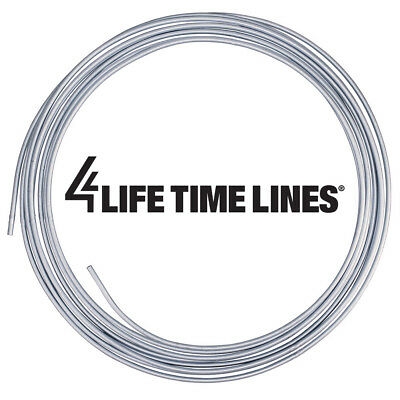 4LIFETIMELINES Copper Coated Steel Tubing Coil 1//4 x 25