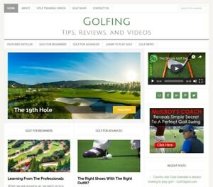 GOLFING-TIPS-niche-blog-website-business-for-sale-w-AUTO-UPDATING-CONTENT