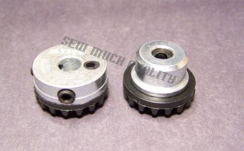 Gear # 163997 1633 29 inférieur gauche Crochet Drive Shaft Set Singer 935U 1036 1200 2000