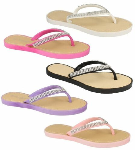 ** vente ** femmes spot on toe post mules tailles uk 3-8 F0785