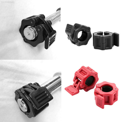 5348 1 Pair 25mm Dumbbells Barbell Collars Clamps Jaw Quick Release Olympic Stan