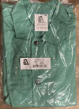 New Steiner 40 Weldlite Green Medium Welding Jacket 1039 M