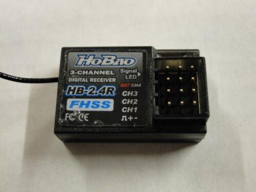 * Nouveau HOBAO HB-2.4G 3 Canaux Système Radio 2.4GHz 4 G OFNA OHR