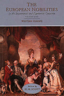 The European Nobilities in the Seventeenth and Eighteenth Centuries-ExLibrary