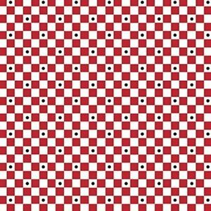 70-034-Remnant-Mary-Engelbreit-Mary-039-s-Fairies-3-16-Inch-Grid-Checkerboard-Fabric
