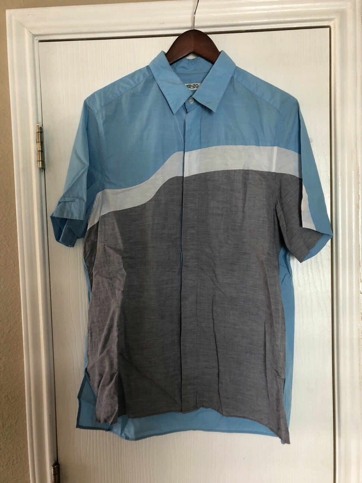 Kenzo Waves shirt Size Medium