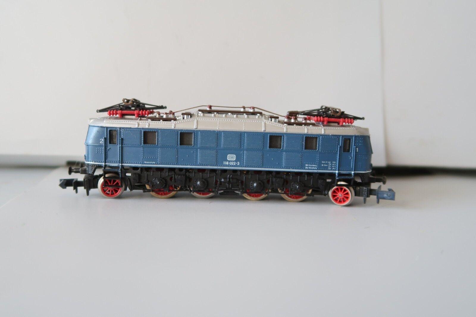 Arnold n 2455 e-Lok br 118 022-3  AEG  (ds002-45s4 4)