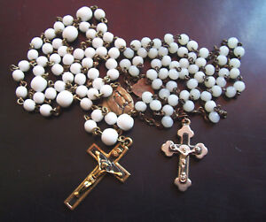 2-Old-Rosary-Chains-Jesus-Christ
