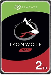 HARD DISK 3,5 SEAGATE IRONWOLF 2000GB 2TB 64MB CACHE - PER NAS - ST2000VN004