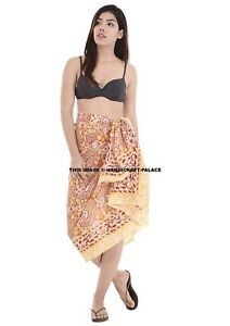 4bff8f543c Plus Size Indian Cotton Pareo/Scarf/Beach Cover-Up Hijab Kaftan ...