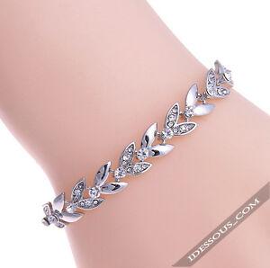 925-Silber-Armkette-Damen-Schmuck-Armband-Armreifen-Edel-Diamant-FERANI-39