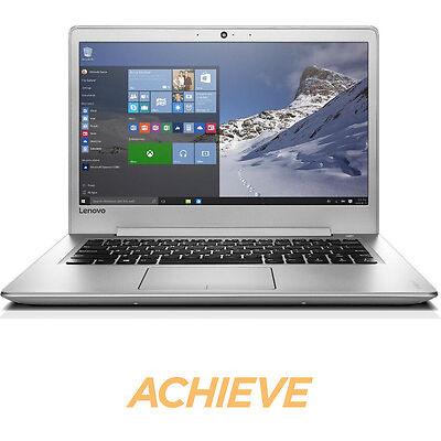 "LENOVO IdeaPad 510S 14"" Laptop Silver Windows 10 8 GB RAM 256 GB SSD Storage"