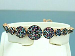 Turkish-Handmade-Jewelry-925-Sterling-Silver-Ruby-Stone-Women-Bracelet