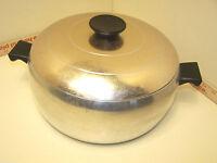 Wear-Ever Aluminum Pot With Lid No. 4035 5 QT. Dutch Oven CANADA Vintage 5 Quart