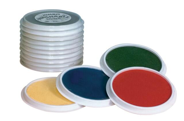 Jumbo Circular Washable Pads Assorted colors Center Enterprises Inc CE6615 10 count