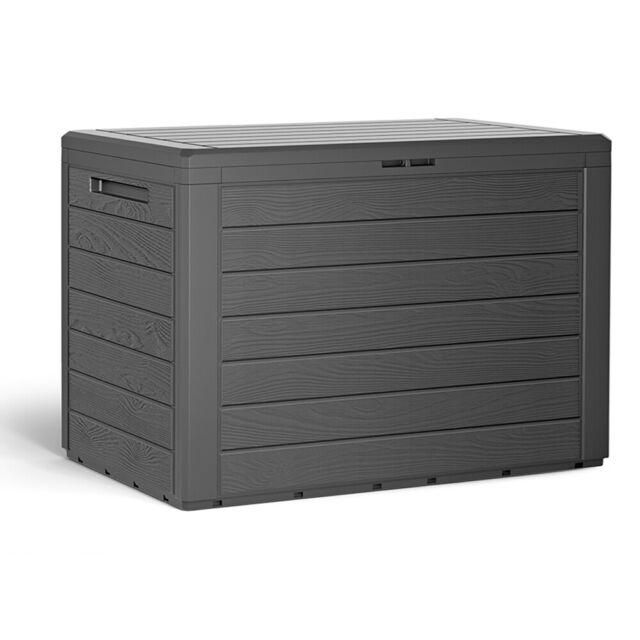 Auflagenbox Kunststoff Truhe Kissenbox Balkonbox Garten Balkon Kissentruhe Kiste Ebay