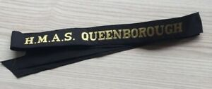 H-M-A-S-QUEENBOROUGH-GENUINE-RAN-TALLY-BAND-220-SHIPS-NAMES-AVAILABLE