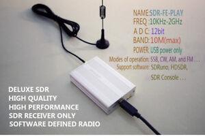 10KHz-2GHz 12bit SDRPLAY AM FM HF SSB CW SDR Receiver